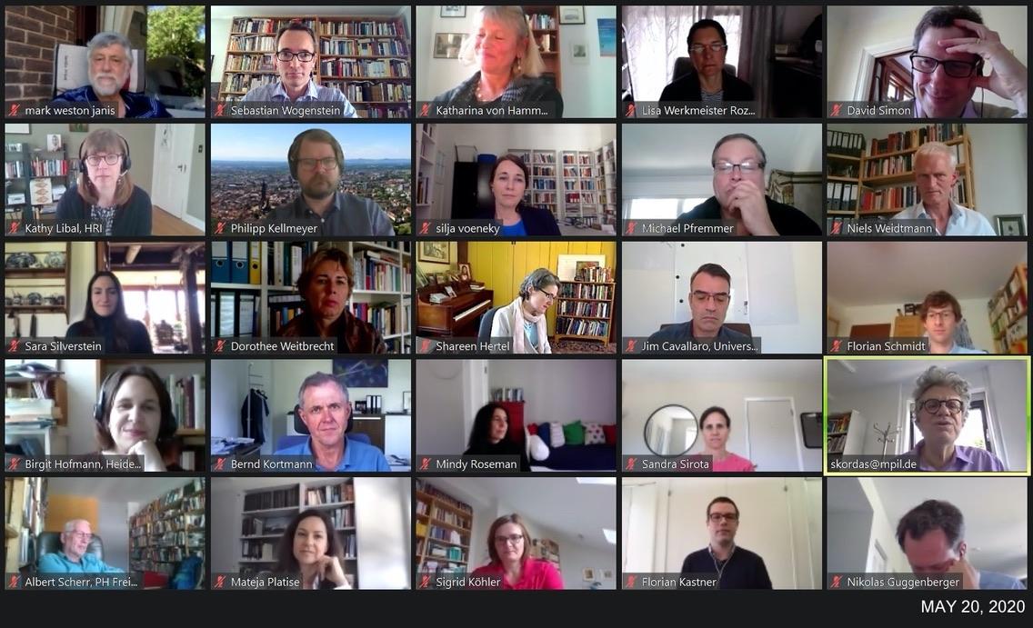 HRRC Zoom Meeting Screenshot